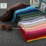 Heiße Verkaufs-Ebene moslemische Hijab Dame Fashion Viscose Scarf Factory