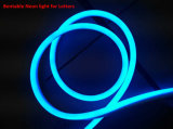 文字のためのR/G/B/WカラーLED Bentable屈曲のネオンライト