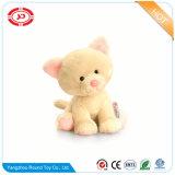 Cute Fancy chat blanc et brun doux un jouet en peluche farcies