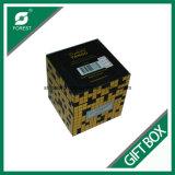Duplexpappgeschenke, die Papierkasten für das Uhr-Verpacken verpacken