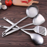 5 Кусок кухонные принадлежности для приготовления пищи с помощью ручки из нержавеющей стали