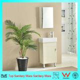 Gabinete de banheiro pequeno da madeira compensada do agregado familiar do tamanho