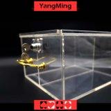 Los modelos de lujo Chip acrílico transportista Casino Poker Chips pueden corregir muchos tipos de dos rejillas Chips Ym-TX02