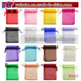 Schmucksache-Verpackungs-Hochzeits-Bevorzugungs-Beutel-Süßigkeit-Beutel (W1042)