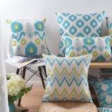 Cuscino di tela di accento del cotone di prezzi bassi per la decorazione della base
