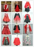 Vêtements de fantaisie de filles de robe de Commuion de gosses de costumes de robe de mode