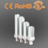 10W E27 / G24 del LED del enchufe de luz CFL lámpara de repuesto, garantía de 3 años, el precio de fábrica