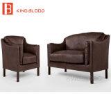オンラインでからの黒いカラー2 Seaterのソファーの家具店