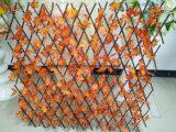 Recinzione della decorazione della barriera del giardino piegata legno