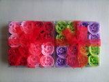 Flor de papel del jabón para el regalo de boda