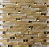 Mosaico di vetro dell'alluminio della miscela delle mattonelle di mosaico e dello specchio di cristallo