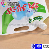 De grootte Aangepaste Detergent Zak van de Wasserij met Spuiten en het Gat van het Handvat