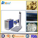 Preiswertes bewegliches Faser-Laser-Markierungs-Maschinen-Laserengraver-Metallnichtmetall