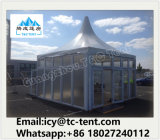 3mx3m ao ar livre, 4mx4m, barraca do Gazebo do dossel do Pagoda do PVC do alumínio de 5mx5m