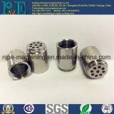 Штуцер трубы металла CNC таможни высокой точности подвергая механической обработке покрынный кромом