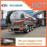 販売のための半タンクトレーラーの燃料のタンク車のトレーラー