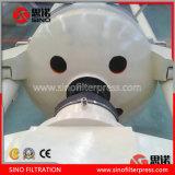 Tipo rotondo filtropressa di industria ad alta pressione della bassa umidità per argilla di ceramica