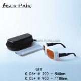 Laser-Schutz-532nm u. 1064nmfor 2 Zeile YAG und Ktp Lasersicherheits-Schutzbrillen der Laser-Schutzbrille-/Für Doktor