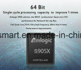 O Caidao o mais novo Cws517 Amlogic S905X 1GB 8GB WiFi Bt4.0 H. 265 caixa esperta da tevê 17.0 4k