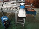 plasma portátil monofásico do CNC da fase 220V e máquina de estaca da flama do oxy-combustível