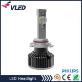 Faro capo luminoso eccellente 9006 della lampada LED di Philips LED dell'obiettivo esclusivo 9006 H4