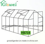 2.1m*4.2m 폴리탄산염과 Alu. 프레임 취미 온실 (HB714)