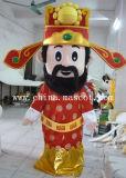 中国の最も普及した神のマスコットのプラシ天の衣裳