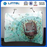 Tube de tissu de toile de fond de la tension d'onde graphique affiche murale