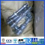 Envase galvanizado que azota las guarniciones del puente de los materiales
