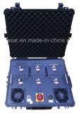 引くこと棒携帯用Uavの無人機の妨害機の機密保護の防衛システムか軍の護送の爆弾の妨害機