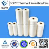 Meilleur prix BOPP matte film de laminage thermique, humidité preuve