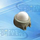 3W impermeabilizan fuente de luz de punta redonda de la cubierta de aluminio LED del caso plástico