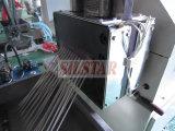 Überschüssiger Plastikfilm bereiten Maschine auf