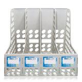 4 Spalten PS-Standarddatei-Tellersegment für Büro-Dokumenten-Speicher