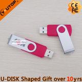 Alta velocidade que revolve a vara alaranjada do metal USB3.0 para os presentes (YT-1201-06)