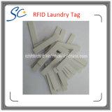Étiquette lavable imperméable à l'eau de blanchisserie d'IDENTIFICATION RF de fréquence ultra-haute avec la puce étrangère de H3