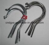 Автоматический крюк вешалки провода одежд делая машину с продевать нитку
