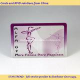 Quatro Cores cartão magnético de plástico para Gym Lealdade