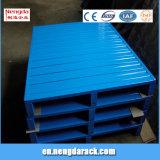 Palette de stockage de palettes en métal avec la capacité de charge 2t-5t