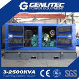 Звукоизоляционный электромашинный генератор 150kVA Cummins тепловозный (GPC150S)