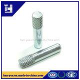 Prendedor de aço do Pin da placa do zinco do nó com aperto Hex