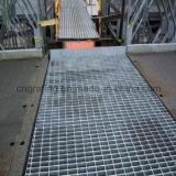 Grating de aço galvanizado do MERGULHO quente para a plataforma da fábrica