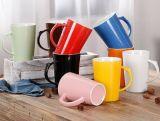 Design personalizado Ceramic Corlor Glazed Stoneware Mug com alça