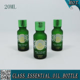 20ml Dark Green Frosted Knell Essential Oil Bottles
