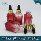 Dirty Hot! 30ml Gradient Red Public garden Knell Dropper Bottle 1oz