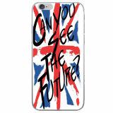 Los casos de teléfono de diseño de la bandera del Reino Unido el caso de TPU para iPhone 7