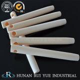 Vuurvaste Alumina Buis op hoge temperatuur of Alumina Ceramische Rol voor Industriële Oven