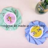 Caliente y fría bolsa de hielo de tela médica reutilizable para el dolor de cabeza
