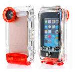 100% 지능적인 전화 iPhone 6plus를 위한 40 미터 방수 방수 케이스