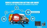 El GPS vehículo Tracker con cámara y sensor de combustible y la tecnología RFID